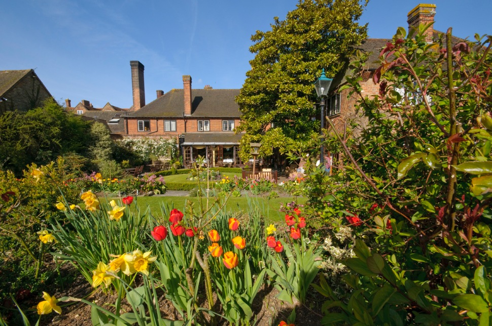 Montagu Arms Garden & Hotel High