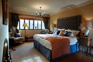 Hever Castle,new bedroom & bathrooms